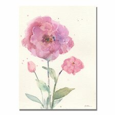 <strong>Trademark Fine Art</strong> 'Camelia Blush' Canvas Art