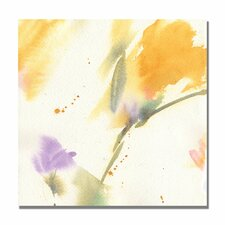 <strong>Trademark Fine Art</strong> 'Flowers Abstract' Canvas Art