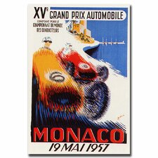 <strong>Trademark Fine Art</strong> 'Monaco 1957' Canvas Art