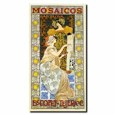 <strong>Trademark Fine Art</strong> 'Mosaicos Escofet-Tejera' Canvas Art