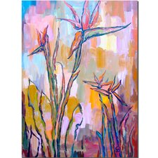<strong>Trademark Fine Art</strong> 'Birds in Paradise' Canvas Art