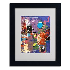 "<strong>Trademark Fine Art</strong> ""Urban Collage II"" Framed Art"