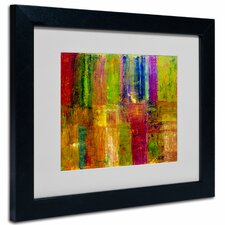 "<strong>Trademark Fine Art</strong> ""Color Abstract"" Framed Art"