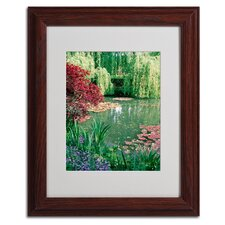 """Monet's Lily Pond 2"" Framed Art"