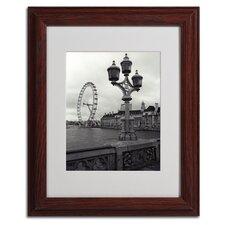 "<strong>Trademark Fine Art</strong> ""London Eye"" Framed Art"