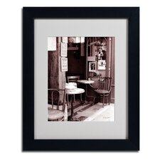 """Paris Cafe"" Framed Art"