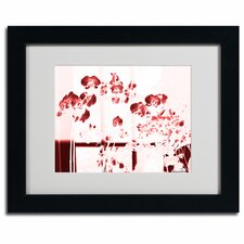 """Red Orchids"" Framed Art"