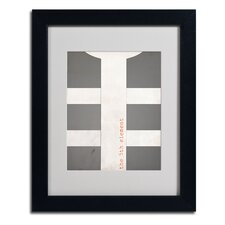 "<strong>Trademark Fine Art</strong> ""Fifth Element"" Framed Art"