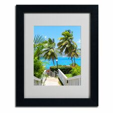 "<strong>Trademark Fine Art</strong> ""Virgin Islands 3"" Matted Framed Art"