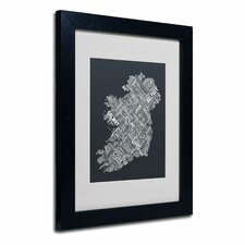 """Ireland VI"" Matted Framed Art"