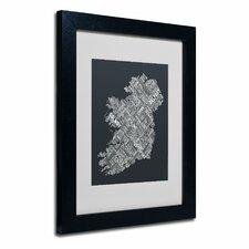 """Ireland VI"" Matted by Michael Tompsett Framed Textual Art"