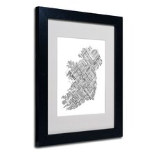 """Ireland VII"" Matted Framed Art"