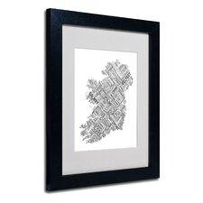 """Ireland VII"" Matted by Michael Tompsett Framed Textual Art"