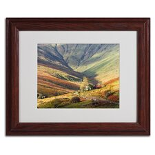 """Connemara Ireland"" Matted Framed Art"