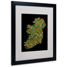 """Ireland IV"" Matted Framed Art"