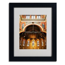 "<strong>Trademark Fine Art</strong> ""Trinity Church"" Matted Framed Art"
