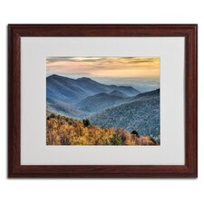 "<strong>Trademark Fine Art</strong> ""Shenandoah Autumn"" Matted Framed Art"