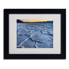 "<strong>Trademark Fine Art</strong> ""Badwater"" Matted Framed Art"
