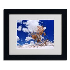"<strong>Trademark Fine Art</strong> ""Burn Tree"" Matted Framed Art"