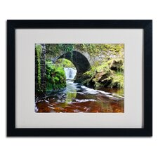 "<strong>Trademark Fine Art</strong> ""Lush River"" Matted Framed Art"