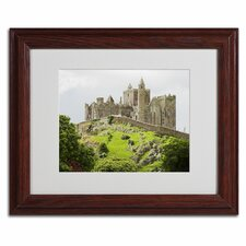 """Rock of Cashel Ireland"" Matted Framed Art"