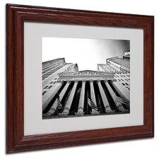 "<strong>Trademark Fine Art</strong> ""The New York Stock Exchange"" Matted Framed Art"