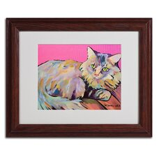"<strong>Trademark Fine Art</strong> ""Catatonic"" Matted Framed Art"