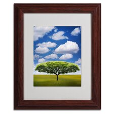 "<strong>Trademark Fine Art</strong> ""Improbable Open Space"" Matted Framed Art"