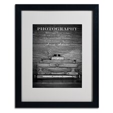 "<strong>Trademark Fine Art</strong> ""Photography B and W"" Matted Framed Art"