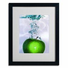 """""""Apple Splash II"""" byRoderick Stevens Framed Photographic Print"""