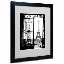 """""""Views of Paris"""" by Sally Gall Framed Photographic Print"""