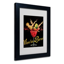 "<strong>Trademark Fine Art</strong> ""Vlan Du Berni"" Matted Framed Art"