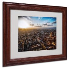 "<strong>Trademark Fine Art</strong> ""Florence"" Matted Framed Art"
