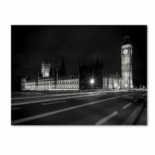 "<strong>Trademark Fine Art</strong> ""Letters From London 2"" Canvas Art"