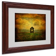 """""""Field of Dandelions"""" by Lois Bryan Matted Framed Painting Print"""