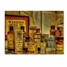 "<strong>Trademark Fine Art</strong> ""Vintage Medicines"" Canvas Art"