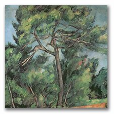 """The Large Pine"" by Paul Cezanne Painting Print on Canvas"