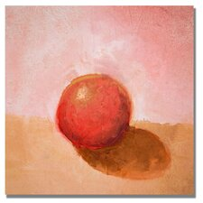 <strong>Trademark Fine Art</strong> 'Red Sphere Still Life' Canvas Art