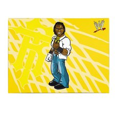 WWE R-Truth Kids Canvas Art