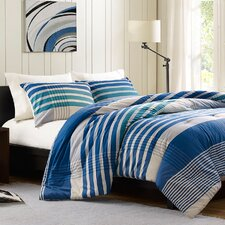 <strong>Ink + Ivy</strong> Connor Duvet Cover Set