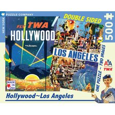 Los Angeles Double Sided 500-Piece Puzzle