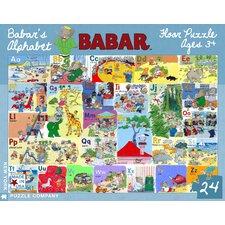 Babar's Alphabet 24-Piece Floor Puzzle