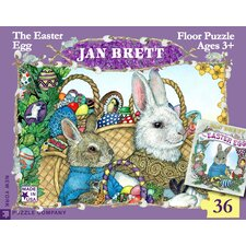Easter Egg 24-Piece Floor Puzzle