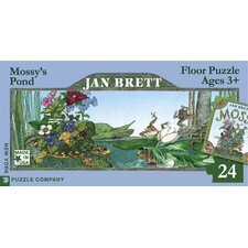 Mossy's Pond Panoramic 24-Piece Floor Puzzle