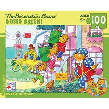 Berenstain Bears Go Green 100-Piece Puzzle