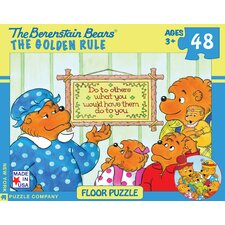 <strong>New York Puzzle Company</strong> Berenstain Bears The Golden Rule 48-Piece Floor Puzzle