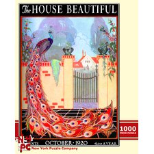 Peacock Garden 100-Piece Puzzle