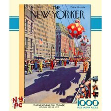 <strong>New York Puzzle Company</strong> Thanksgiving Day Parade 100-Piece Puzzle