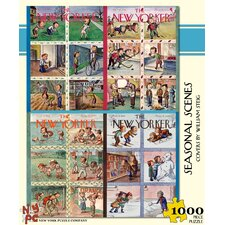 Seasonal Scenes 100-Piece Puzzle