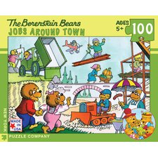 Berenstain Bears Jobs Around Town 100-Piece Puzzle
